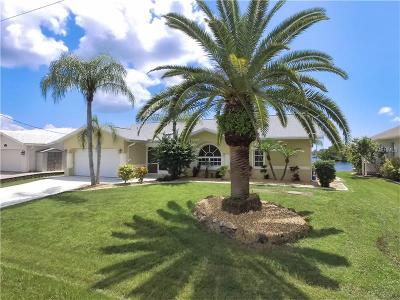 Port Charlotte Single Family Home For Sale: 15842 Aqua Circle