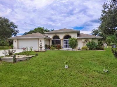 Port Charlotte Single Family Home For Sale: 3311 Jessica Terrace