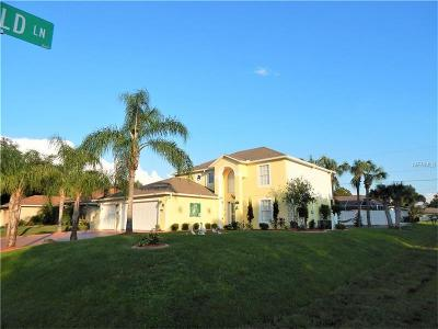 North Port Single Family Home For Sale: 3294 Shalimar Terrace