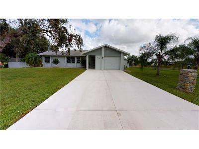 Punta Gorda Single Family Home For Sale: 405 Ridgecrest Drive
