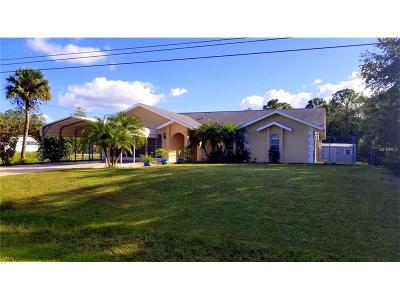 Punta Gorda Single Family Home For Sale: 26133 Notre Dame Boulevard
