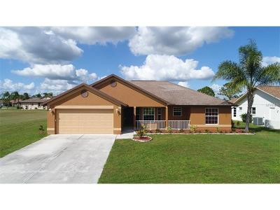 Punta Gorda Single Family Home For Sale: 25496 Banff Lane