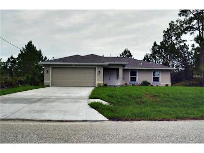 North Port FL Single Family Home For Sale: $185,000