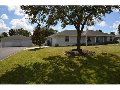 Port Charlotte Single Family Home For Sale: 1200 Pine Court