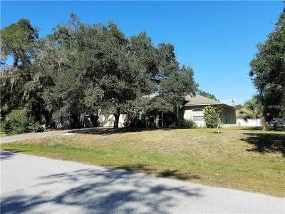North Port FL Single Family Home For Sale: $269,900