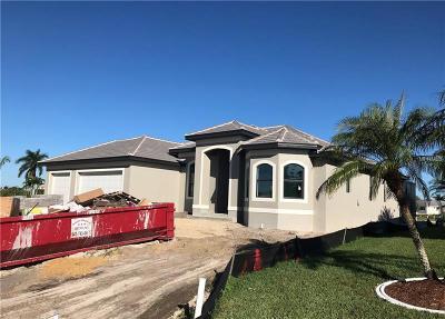 Port Charlotte Single Family Home For Sale: 21308 Burkhart Drive