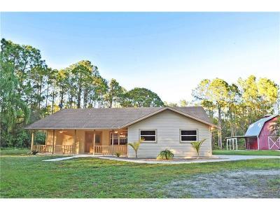 North Port Single Family Home For Sale: 3184 Ulman Avenue