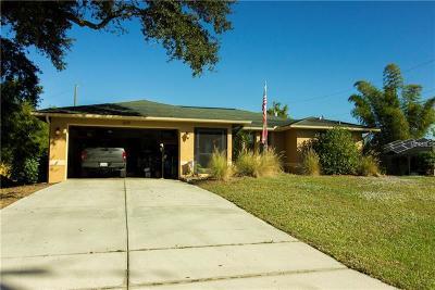 Port Charlotte Single Family Home For Sale: 3619 Como Street