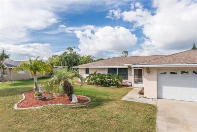 Port Charlotte Single Family Home For Sale: 1553 Harbor Boulevard