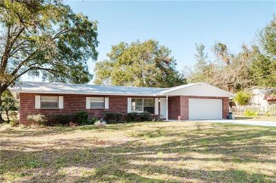 Dade City Single Family Home For Sale: 12135 Scott Drive