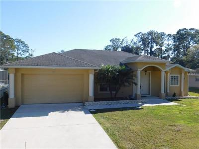 Port Charlotte Single Family Home For Sale: 1096 Cornelius Boulevard