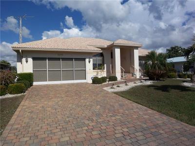 Punta Gorda Single Family Home For Sale: 2280 El Cerito Court