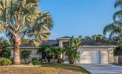 North Port Single Family Home For Sale: 3644 Brownwood Terrace