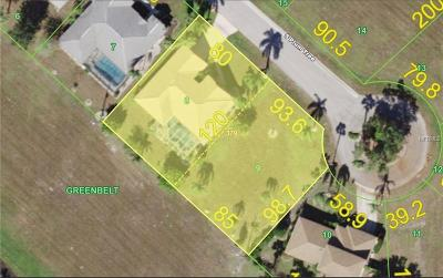 Punta Gorda Isles Sec 18, punta gorda isles sec 18, Punta Gorda Isles Sec 18 Burnt Store Meadows, Punta Gorda Isles Sec 18, Burnt Store Meadows Residential Lots & Land For Sale: 7349 S Plum Tree