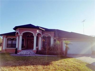 North Port Single Family Home For Sale: 3861 Ulman Avenue