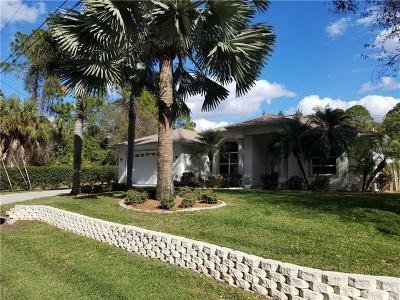North Port Single Family Home For Sale: 3638 Giblin Drive