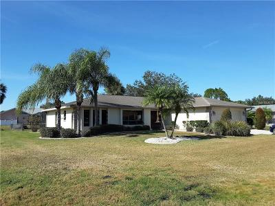 Punta Gorda Single Family Home For Sale: 99 Madre De Dios Street