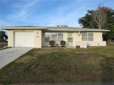 Port Charlotte Single Family Home For Sale: 2555 Baltic Avenue