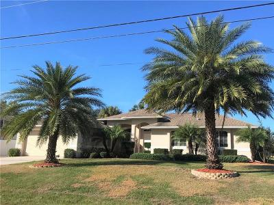 North Port Single Family Home For Sale: 5241 Beckham Street