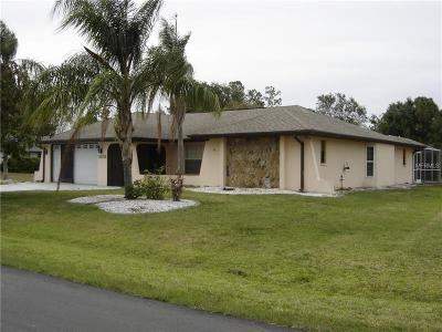 Punta Gorda FL Single Family Home For Sale: $249,900