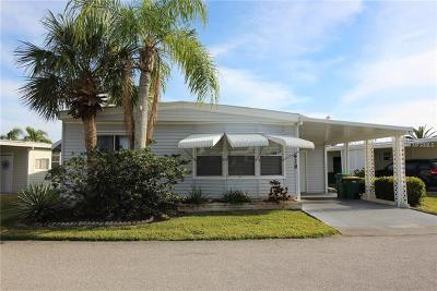 Port Charlotte FL Mobile/Manufactured For Sale: $92,900