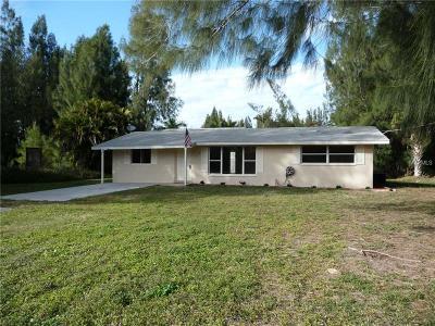 Punta Gorda Single Family Home For Sale: 3450 Gulfbreeze Lane