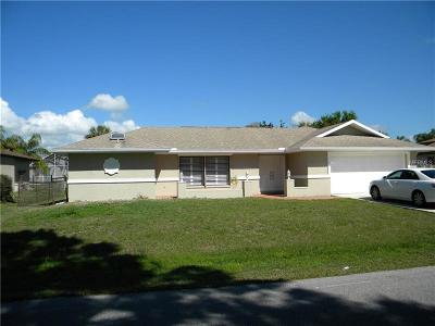 Port Charlotte Single Family Home For Sale: 23162 McCandless Avenue