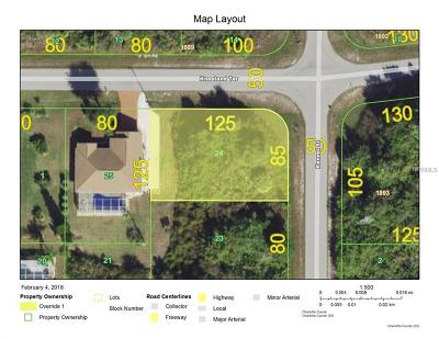 Port Charlotte Sec 052, Port Charlotte Sec 053, Port Charlotte Sec 054, Port Charlotte Sec 056, Port Charlotte Sec 060, Port Charlotte Sec 063, Port Charlotte Sec 095 Residential Lots & Land For Sale: 4329 Kennel St