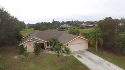 Punta Gorda Single Family Home For Sale: 26403 Deep Creek Boulevard