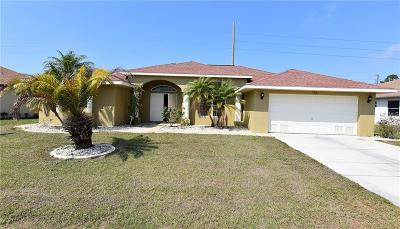 Punta Gorda Isles Sec 18, punta gorda isles sec 18, Punta Gorda Isles Sec 18 Burnt Store Meadows, Punta Gorda Isles Sec 18, Burnt Store Meadows Single Family Home For Sale: 7341 N Seagrape Road