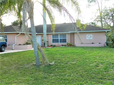 Port Charlotte Single Family Home For Sale: 1517 Forand Circle