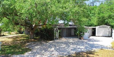 Charlotte County Single Family Home For Sale: 3473 Desoto Drive