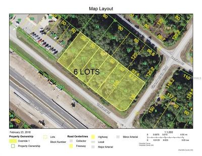 Port Charlotte Residential Lots & Land For Sale: 556 Tamiami Trail