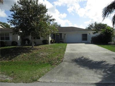 Charlotte County Single Family Home For Sale: 3474 Corning Street