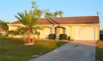 Port Charlotte Single Family Home For Sale: 12686 Bacchus Road