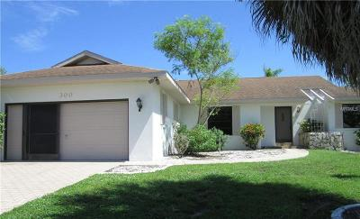 Punta Gorda Single Family Home For Sale: 300 Tarpon Way