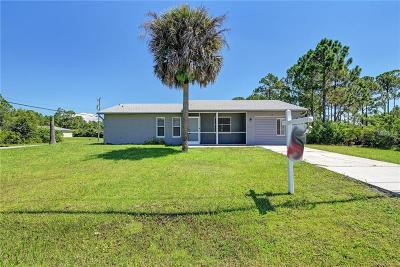 North Port Single Family Home For Sale: 3184 Price Boulevard