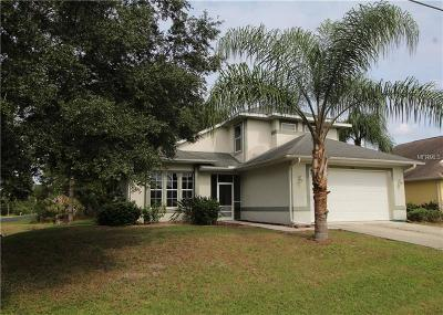 Sarasota County Single Family Home For Sale: 1568 Allegheny Lane