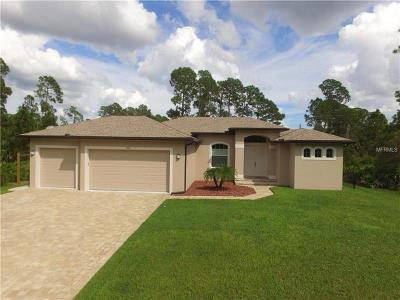 North Port Single Family Home For Sale: Lot 11 Chamrade Rd