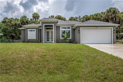 North Port FL Single Family Home For Sale: $249,900