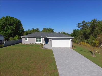 North Port FL Single Family Home For Sale: $201,900
