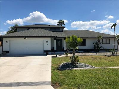 Punta Gorda FL Single Family Home For Sale: $249,000