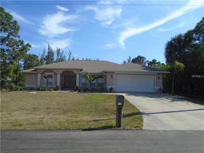 Port Charlotte Single Family Home For Sale: 15244 Brainbridge Circle