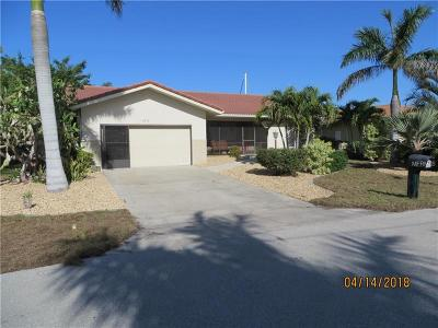 Punta Gorda Single Family Home For Sale: 2310 Palm Tree Drive