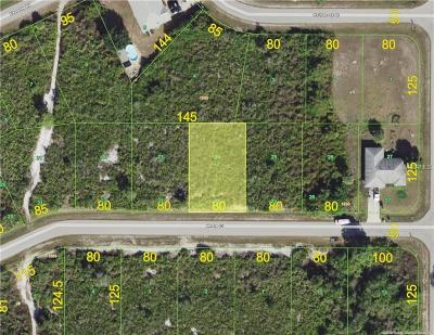 Port Charlotte Sec 052, Port Charlotte Sec 053, Port Charlotte Sec 054, Port Charlotte Sec 056, Port Charlotte Sec 060, Port Charlotte Sec 063, Port Charlotte Sec 095 Residential Lots & Land For Sale: 12210 Moore Court