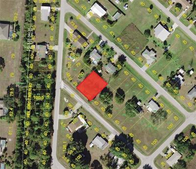 Punta Gorda Residential Lots & Land For Sale: 11180 & 11184 4th Avenue