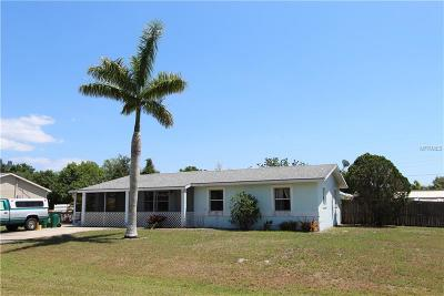 Punta Gorda Single Family Home For Sale: 4701 Knollwood Drive