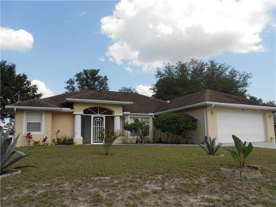 North Port Single Family Home For Sale: 5701 Fairlane Drive