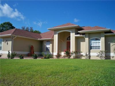 North Port Single Family Home For Sale: 1143 Napoleon Road