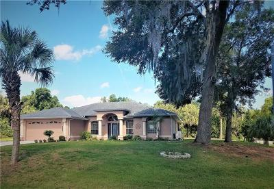 North Port Single Family Home For Sale: 4233 Birnam Terrace